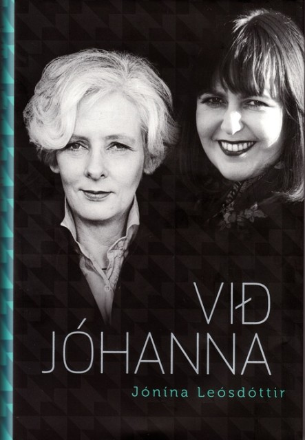 The cover of Leósdóttir's new book about the couple's life together.