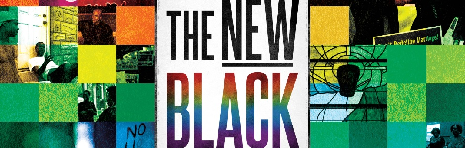 Yoruba Richen's latest work, The New Black  Image via Chicago Black Gay Men's Caucus