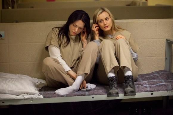 "Alex Vause & Piper Chapman in ""Orange is the New Black"""