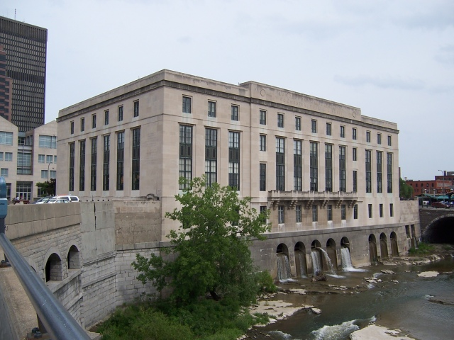Central Library of Rochester and Monroe County, via