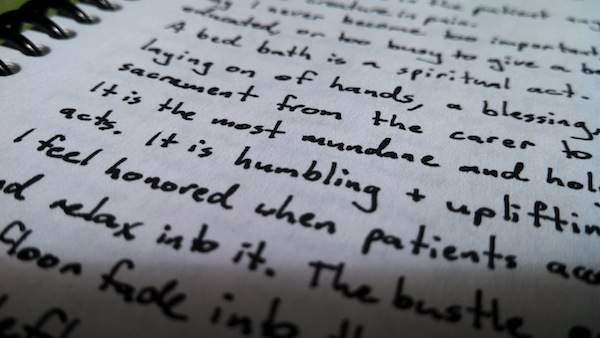 The beautiful handwriting of 'Straddler Lisa suggests that she may have woken up in the morning feeling like P. Diddy on more than one occasion.
