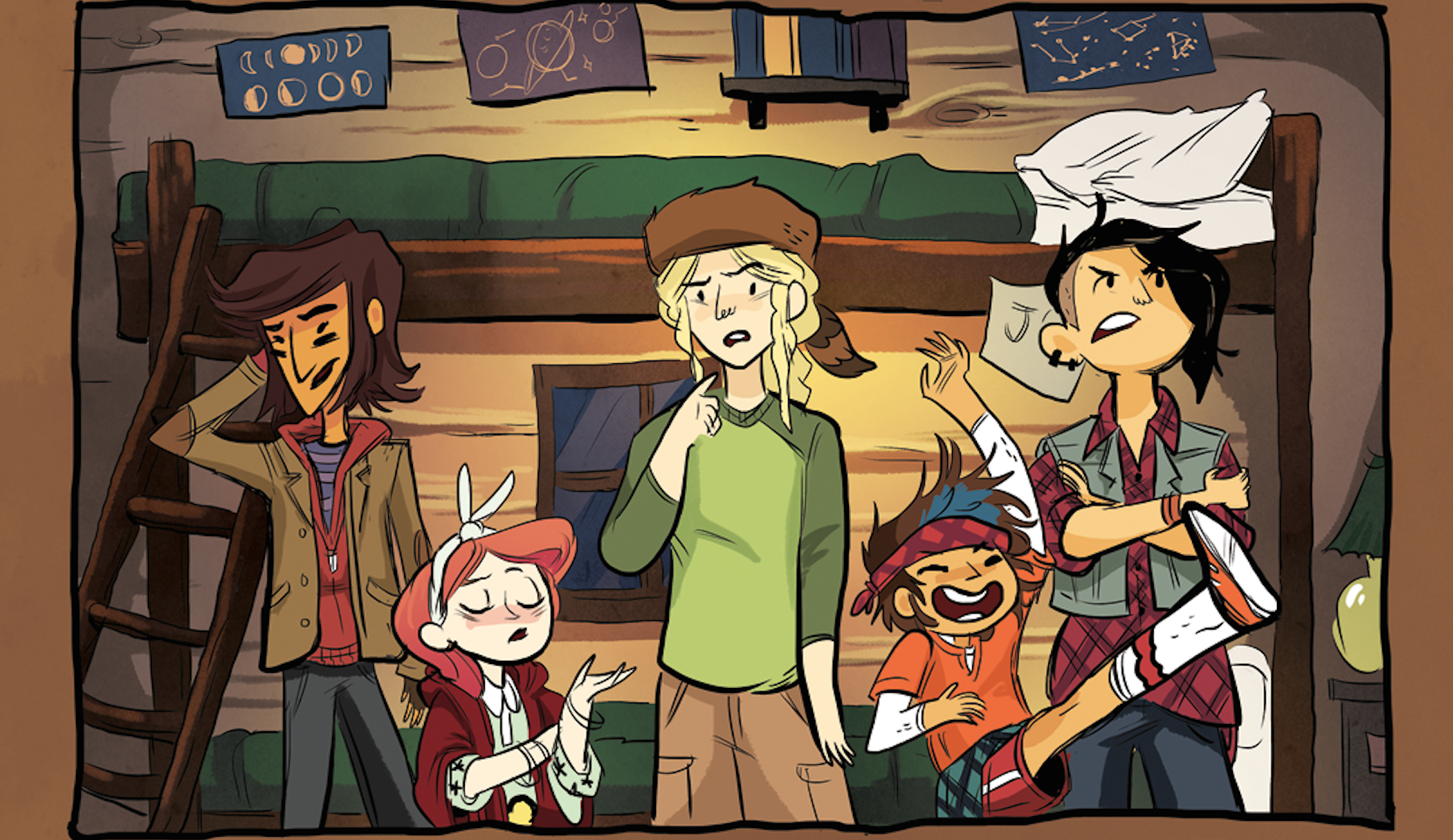 Lumberjanes Launches Today Grace Ellis And Shannon