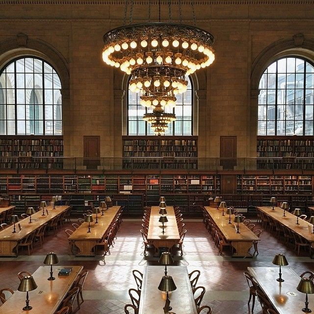New York Public Library via pinterest