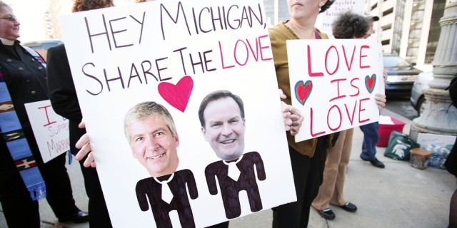 Michigan Judge To Hear Case Challenging State's Gay Marriage Ban