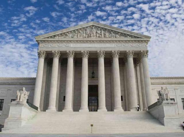 The Supreme Court. Via NPR.