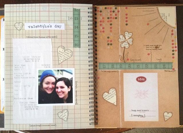 Romantic girlfriend scrapbook 2.0.