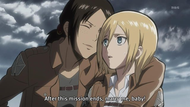 Attack on Lesbians: Ymir and Krista