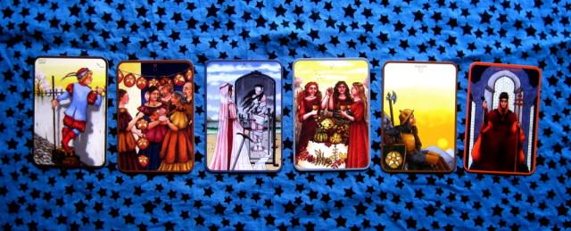 Anna K Tarot via littleredtarot.com