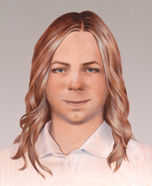 Portrait of Chelsea Manning by Alicia Neal