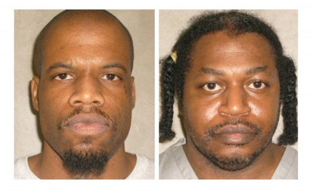 Clayton Lockett and Charles Warner, via the Oklahoma Department of Corrections