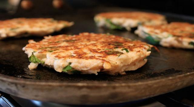 Turnip And Potato Patties Recipe — Dishmaps