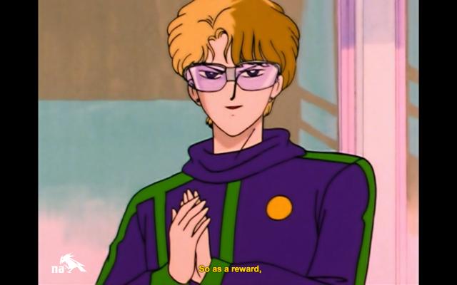 Jadeite in his super-'90s exercise attire