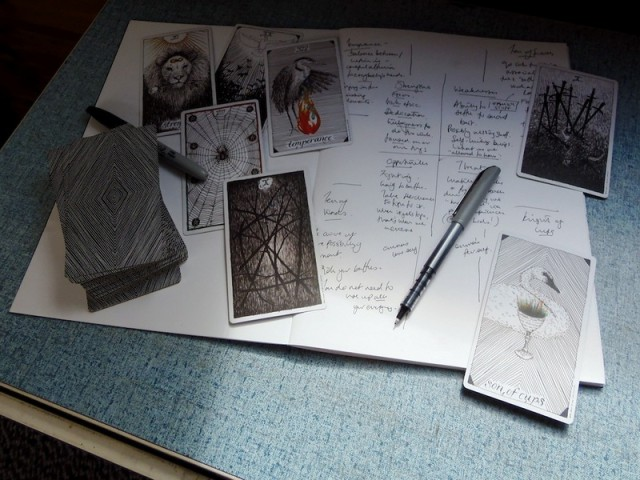 Fool's Journey: Starting A Tarot Journal And What The Heck To Put In It