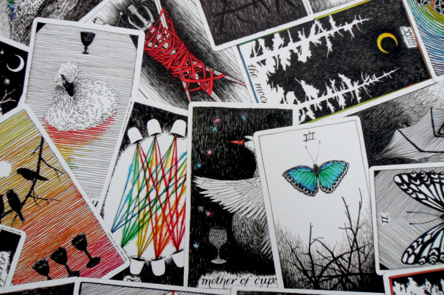 Wild Unknown Tarot via thenouveauromantics.com