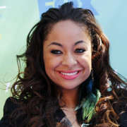 Actress Raven Symone arrives at the Teen Choice Awards in Los Angeles