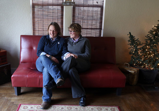 Plaintiffs Amber Beierle and Rachael Robertson, photo credit Joe Jaszewski at the Idaho Statesman