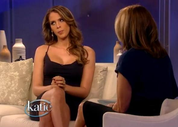 Carmen Carrera not taking any of Katie Couric's nonsense.