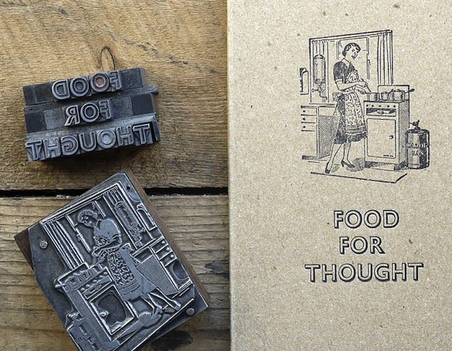 This food-themed journal may be cute, but it doesn't do much to satisfy your hunger. (Via Not On The High Street)