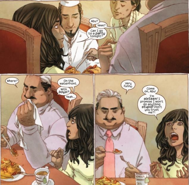Kamala with her family. via tutorialbasket