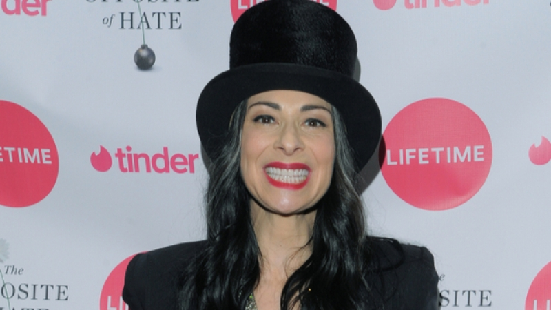 NEW YORK, NY - APRIL 06: Stacy London attends the Launch Party of Sally Kohn's new book 'The Opposite Of Hate' at Guggenheim Museum on April 6, 2018 in New York City. She came out as a late in life lesbian.