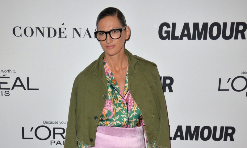 LOS ANGELES, CA. November 14, 2016: J.Crew president Jenna Lyons at the Glamour Magazine 2016 Women of the Year Awards at NeueHouse, Hollywood. She came out as a late in life lesbian.