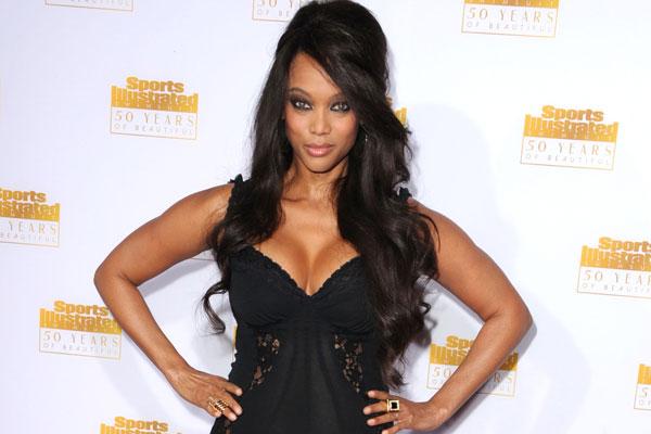 Tyra Banks via Celebrity Fix