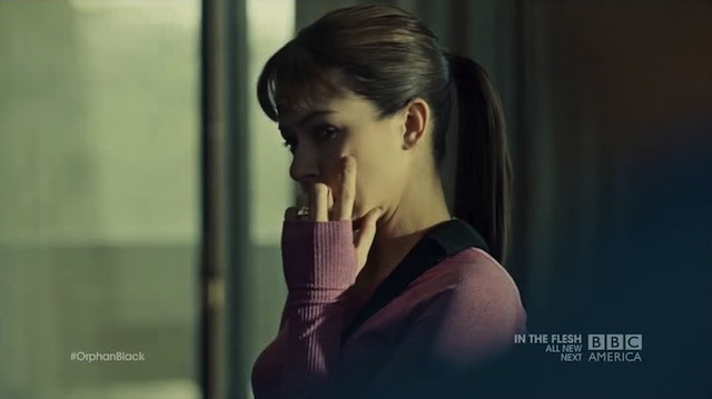 Wrong finger, Alison