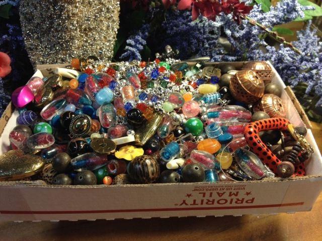 Buy random grab bags of craft supplies for cheap on ebay! via this weird ebay listing
