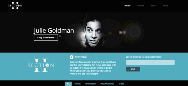 HEY LOOK! IT'S JULIE GOLDMAN!