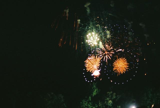 Fireworks for Paul McCartney because Paul Freaking McCartney