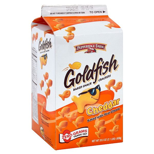 100 things that are orange ranked autostraddle for Gold fish crackers