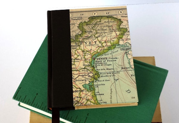 Personally, I find this journal intimidatingly classy. (Via Paper Chocolate Press)