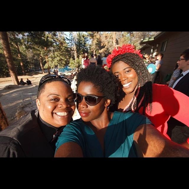Carolyn, Wunmi & Kaylah