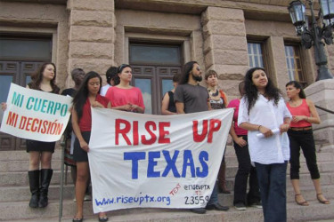 Rise Up/Levanta Texas formed in late June 2013
