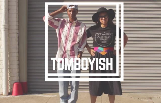 tomboyish