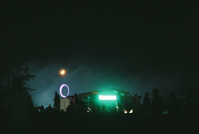 Obviously epic shot of the What Stage at night, with bonus light-up hula hooping action.