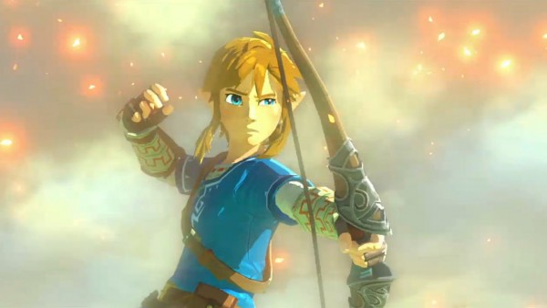 An image from the new open-world Zelda game. via Comic Book News
