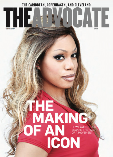 August September 2014 - Laverne Cox LO