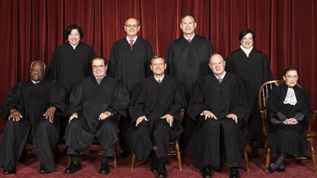 Guess what the three women justices on the court have in common regarding this ruling.