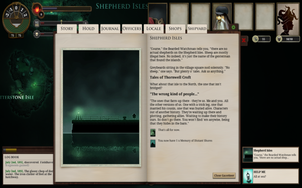 sunless sea portrait example