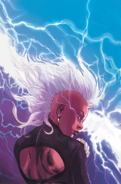 Storm #1 cover by Victor Ibanez