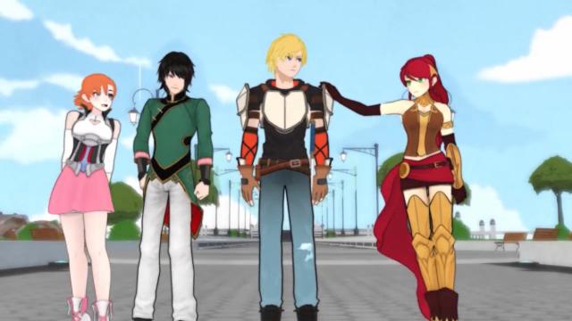 Q-Taku: Animesque Web Series RWBY is Everything Wrong With