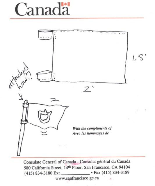 flag sketch