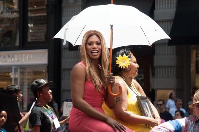Cox a the Pride parade.