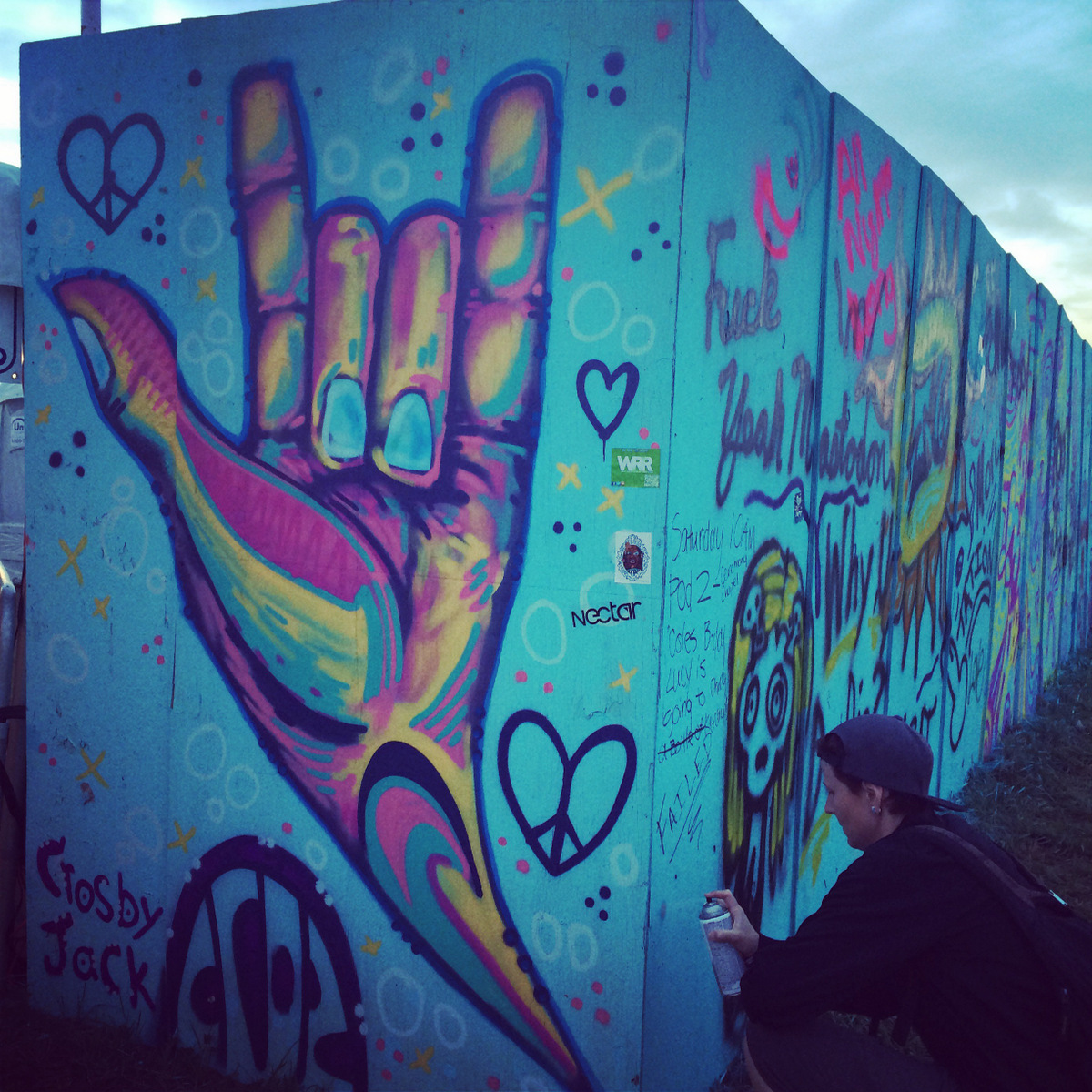 i love you wall