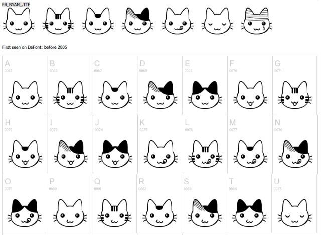 nyan_cat_font