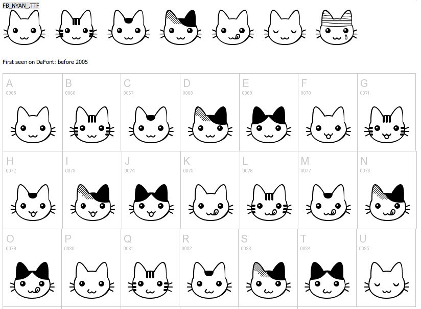 30 Cat Fonts, Because Those Exist | Autostraddle