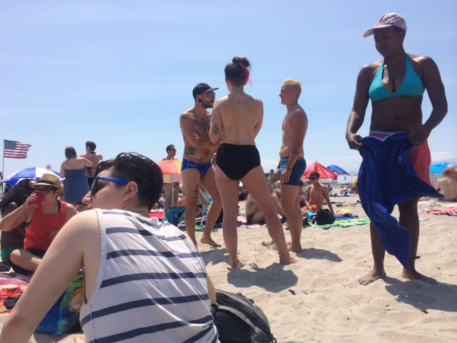 Queers on the beach