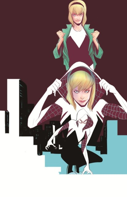 Gwen Stacy as Spider-Woman art by Richard Isanove