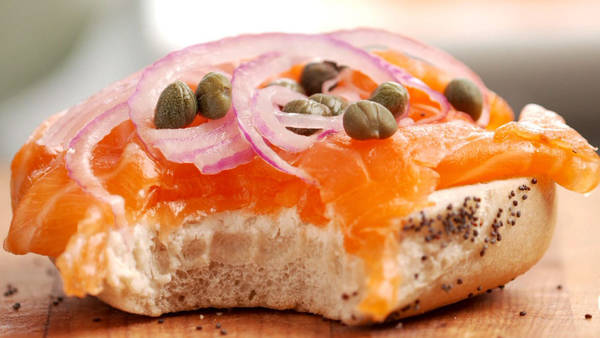 Bagel with Lox Via nytimes.com